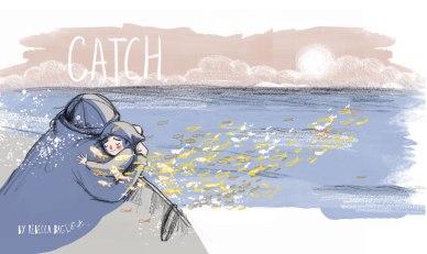 Catch button