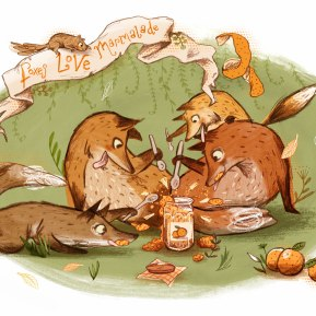 Foxes LOVE marmalade