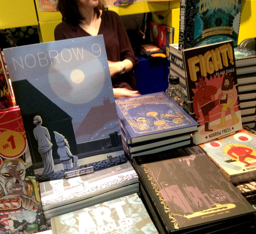 Beautiful Nobrow collection. I own too much of this selection.
