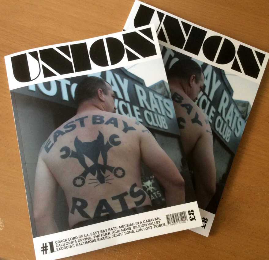 Union mens lifestyle magazine