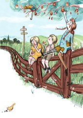 Pippi Longstockings Fiction Illustration